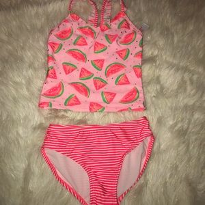 Two sets of girls tankini Swim suits